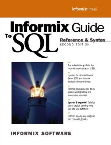 Download Informix Guide to SQL