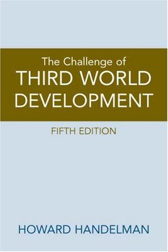 Download Challenge of Third World Development, The (5th Edition)