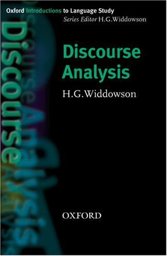 Download Discourse Analysis