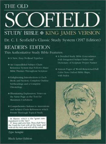 Download The Old ScofieldRG Study Bible, KJV, Reader's Edition