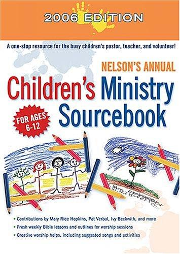 Download Nelson's Annual Children's Ministry Sourcebook