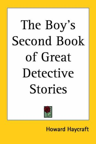 Download The Boy's Second Book of Great Detective Stories
