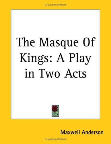 The Masque Of Kings