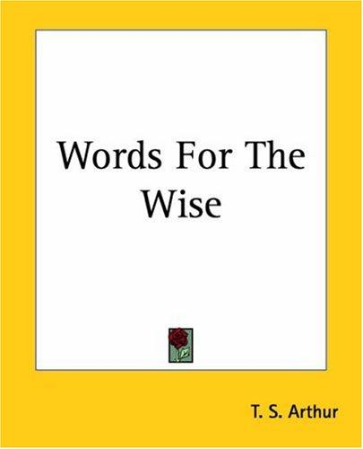 Download Words For The Wise