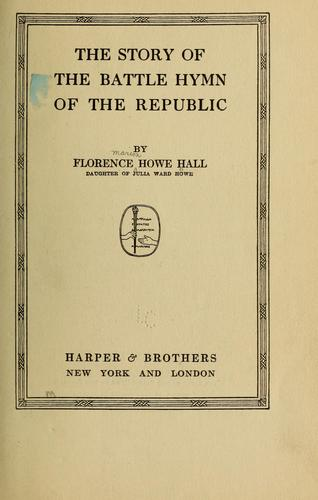 Download The story of the Battle hymn of the republic