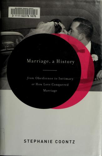 Download Marriage, a History