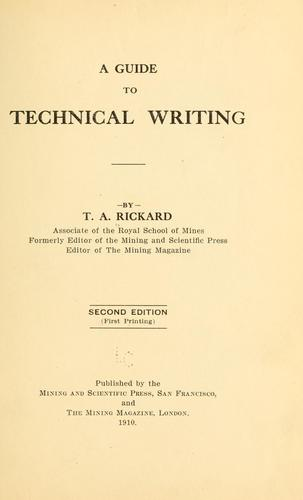 Download A guide to technical writing