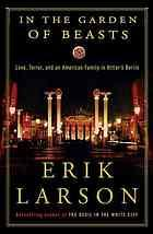 Book Cover: 'In the Garden of Beasts' by Erik Larson