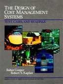 Download The design of cost management systems