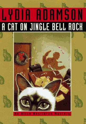 A cat on jingle bell rock