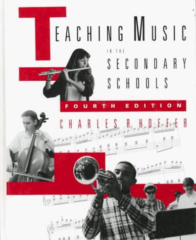 Teaching music in the secondary schools