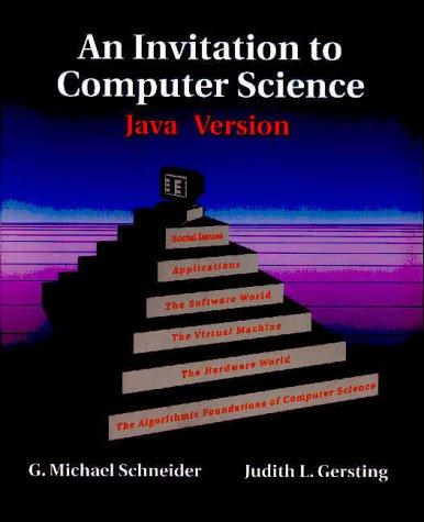 Download An Invitation to Computer Science