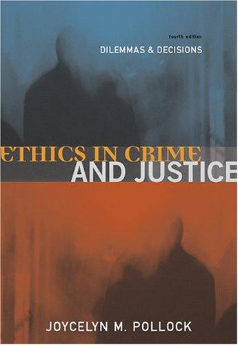 Download Ethics in crime and justice