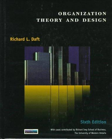 Download Organization theory and design