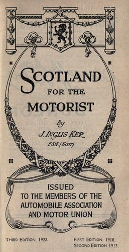 Download Scotland for the motorist