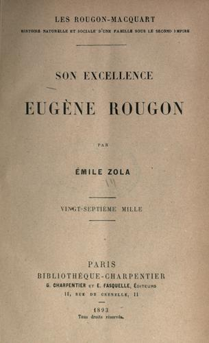 Son Excellence Eugène Rougon.