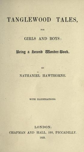 Download Tanglewood tales, for girls and boys