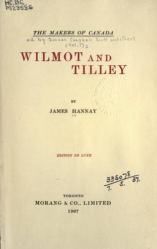Wilmot and Tilley.