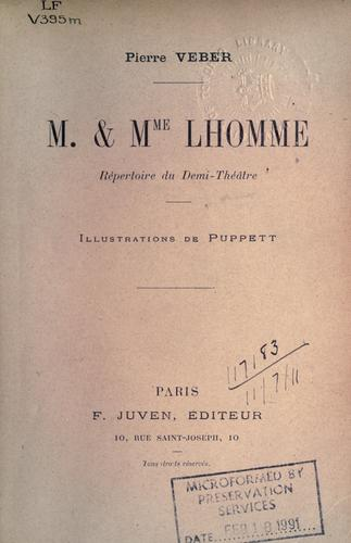M. & Mme. Lhomme