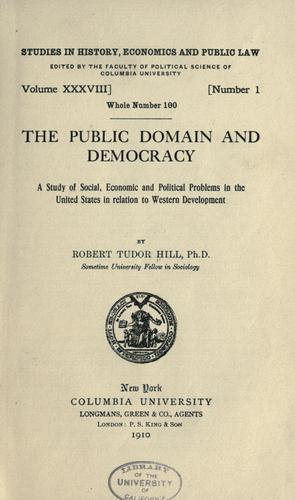 Download The public domain and democracy