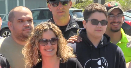 WISH GRANTED: Seneca Falls student battling cancer surprised with trip to Disney (video)