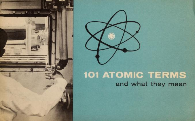 101 atomic terms and what they mean by Esso Research and Engineering Company.