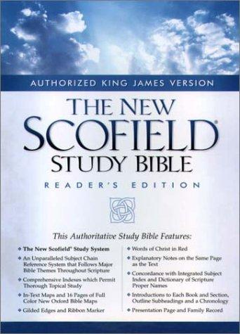 The New ScofieldRG Study Bible, KJV, Special Reader's Edition