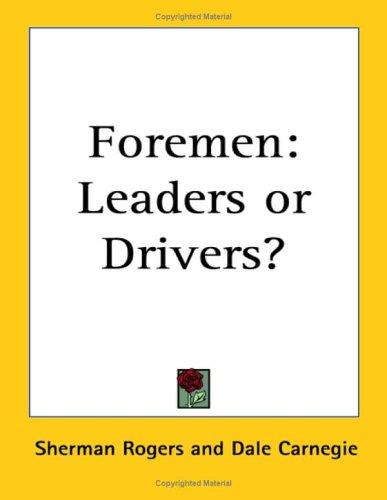 Foremen by Sherman Rogers
