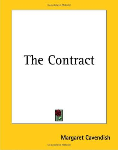 The Contract by Margaret Cavendish