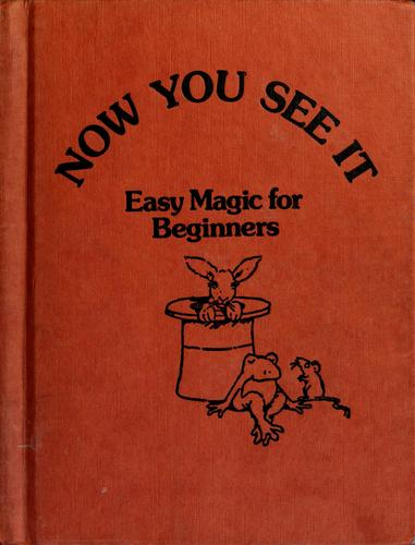 Now you see it by Ray Broekel