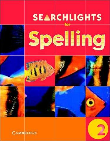 Searchlights for Spelling Year 2 Pupil's Book (Searchlights for Spelling) by Pie Corbett