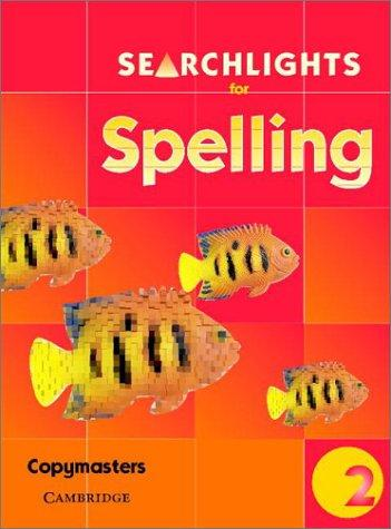 Searchlights for Spelling Year 2 Photocopy Masters (Searchlights for Spelling) by Pie Corbett