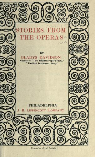 Stories from the operas.