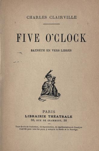 Five o'clock by Charles Clairville